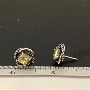 David Yurman Jewelry - David Yurman Lemon Citrine Infinity Earrings